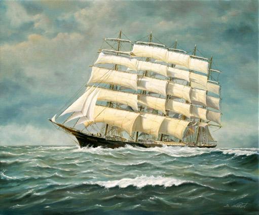 Das Fünfmastvollschiff